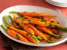 Turn up the stove for Sunny Anderson's healthy Honey-Glazed Carrots recipe from Cooking for Real on Food Network.