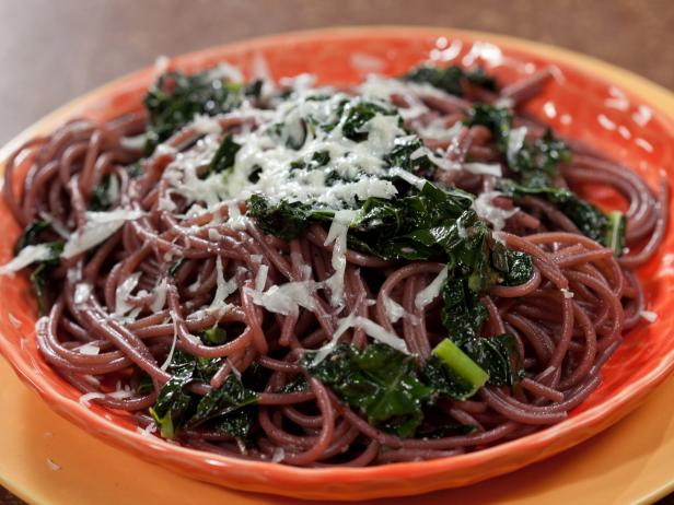 Drunken Spaghetti with Black Kale