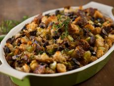Try the recipe for Sourdough Bread Stuffing, from Food Network's Good Deal with Dave Lieberman.