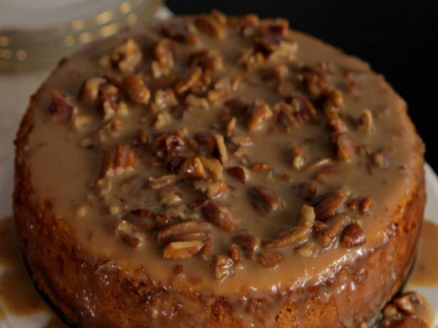 Pumpkin Maple Pecan Cheesecake