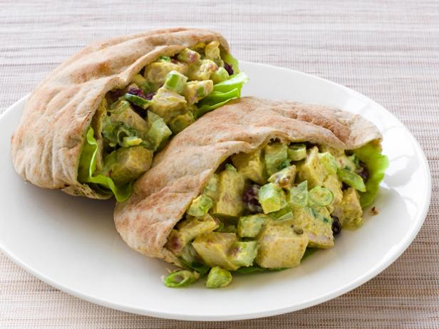 Sweet-and-Spicy Turkey Pitas