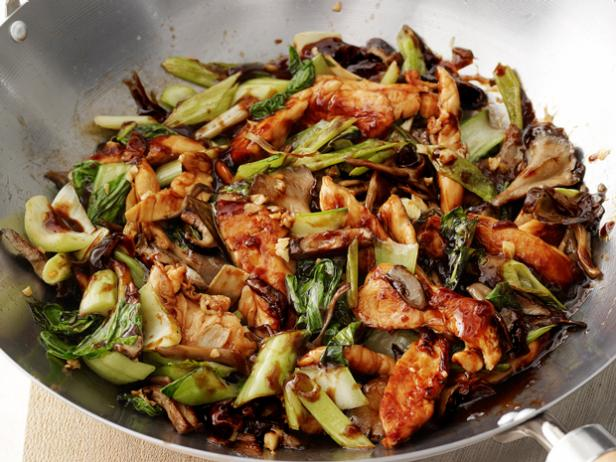 Cantonese Chicken and Mushrooms