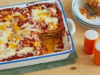 Easy Beefy Cheesy Enchilada Casserole