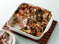 Cheddar, Ham and Egg Casserole