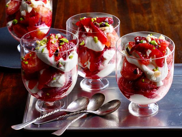 Blood Orange Trifles
