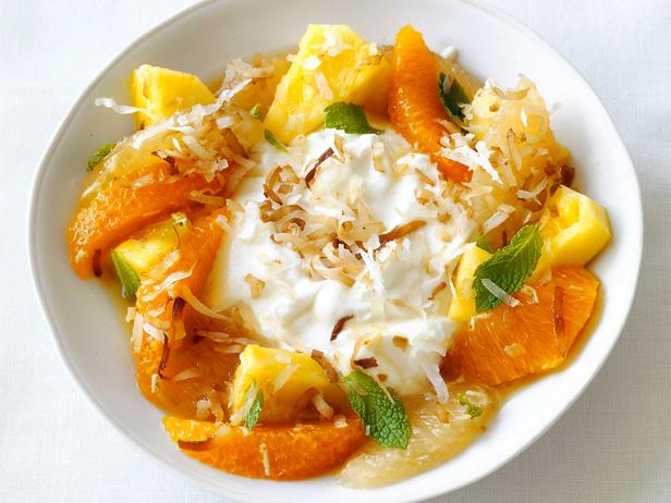 Pineapple-Citrus Salad With Coconut