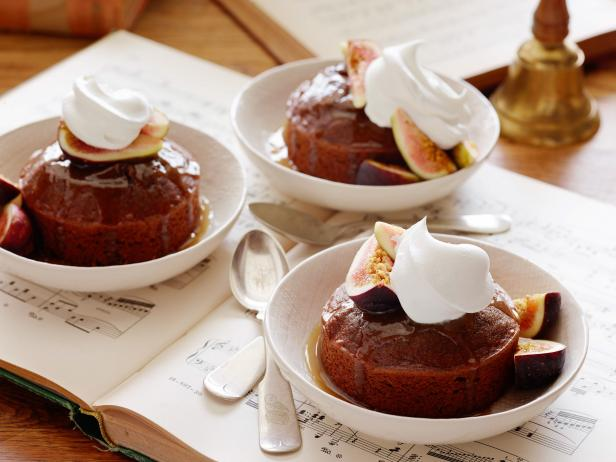 Warm Sticky Figgy Pudding
