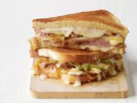Ham-Taleggio Grilled Cheese