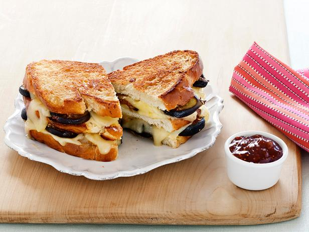 Double-Decker Truffled Grilled Cheese
