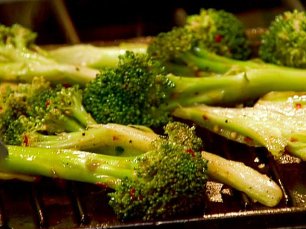 Spenser's Grilled Broccoli