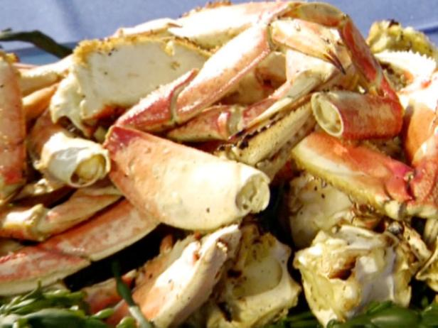 B.B.Q. Garlic Crab