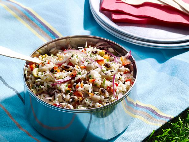 Black-Eyed Pea-Basmati Salad