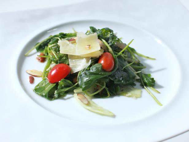 arugula and fennel salad with lemon herb vinaigrette - Ina Garten Fennel Salad
