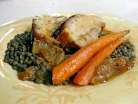 Pork Belly with Lentils