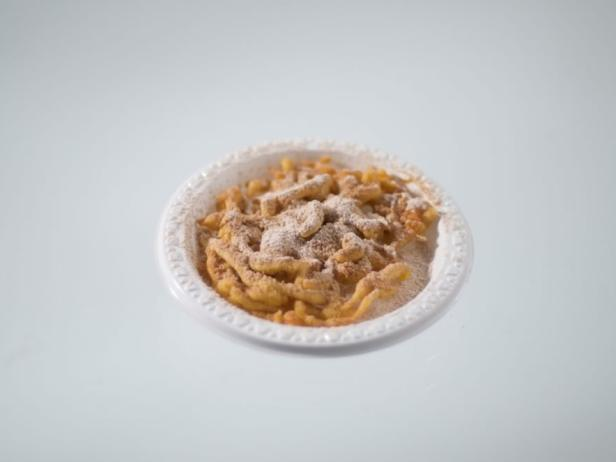 Curried Funnel Cake