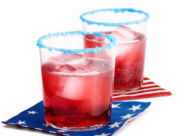 Red-White-and-Blue Cocktails