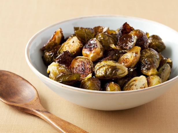 roasted brussels sprouts - Ina Garten Baked Bacon