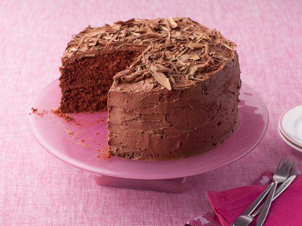 A Gooey, Decadent Chocolate Cake