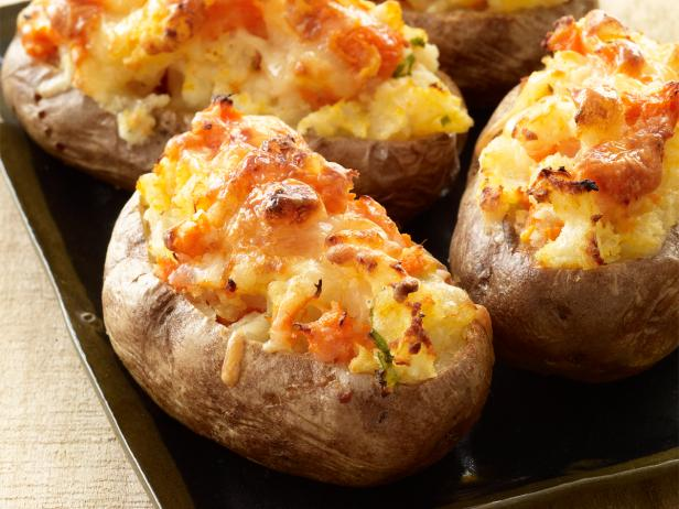 marbled stuffed potatoes recipe food network kitchen