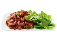 Sesame Chicken With Snow Peas