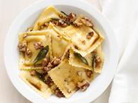 Ravioli With Sage-Walnut Butter