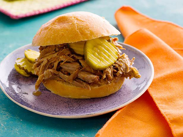 Pulled Pork with Mango BBQ Sauce