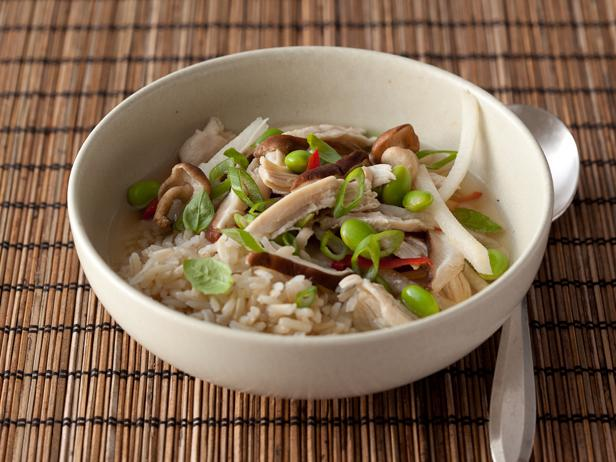 Chicken-Scallion Rice Bowl