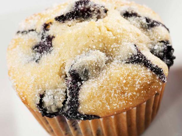 Reduced Sugar Blueberry Muffins with Truviaand#153 Natural Sweetener