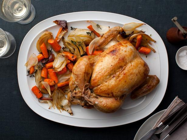 Perfect Roast Chicken Recipe Ina Garten Food Network