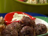 Greek Meatballs and Tzatziki