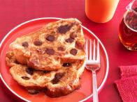 Chocolate Chip-Date French Toast