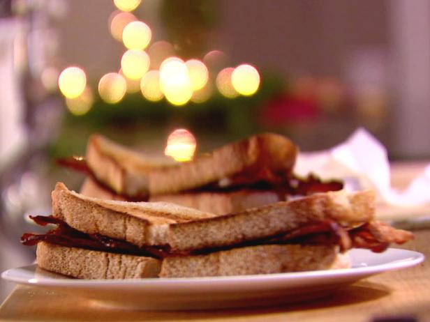 english bacon sandwich - Ina Garten Baked Bacon