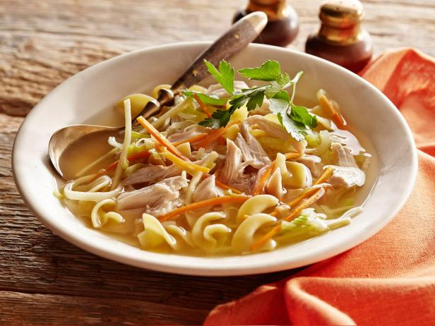 Suped-Up Traditional Chicken Noodle Soup