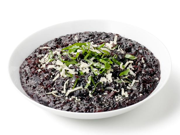 Black Rice Risotto