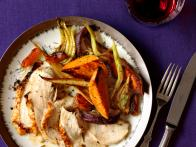 Roast Turkey Breast With Glazed Vegetables
