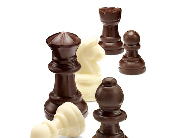 Chocolate Chess Pieces