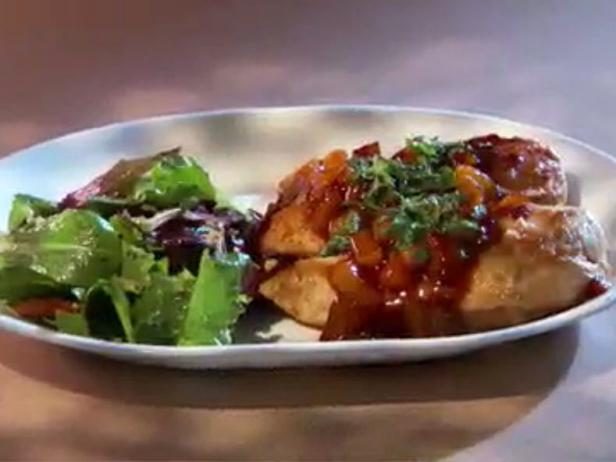 Guy Cooks With Kids: Mikaela's Cranberry Apple Chicken Breast