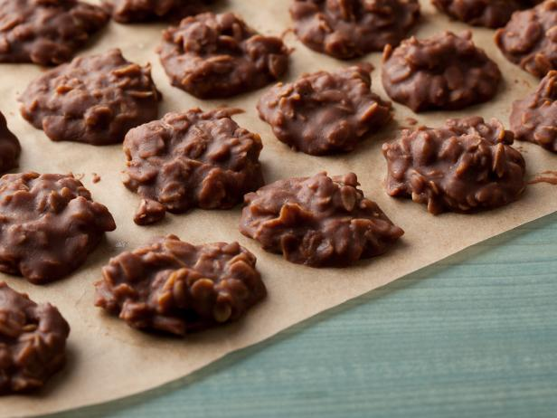 Peanut Butter-Chocolate No-Bake Cookies