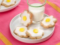 Daisy Shortbread Cookies