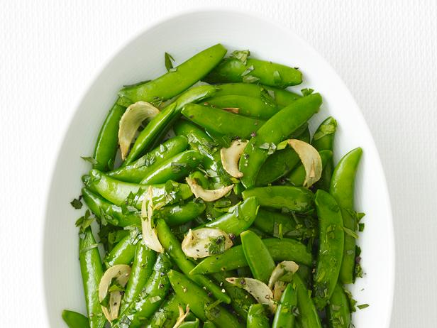 Buttered Snap Peas