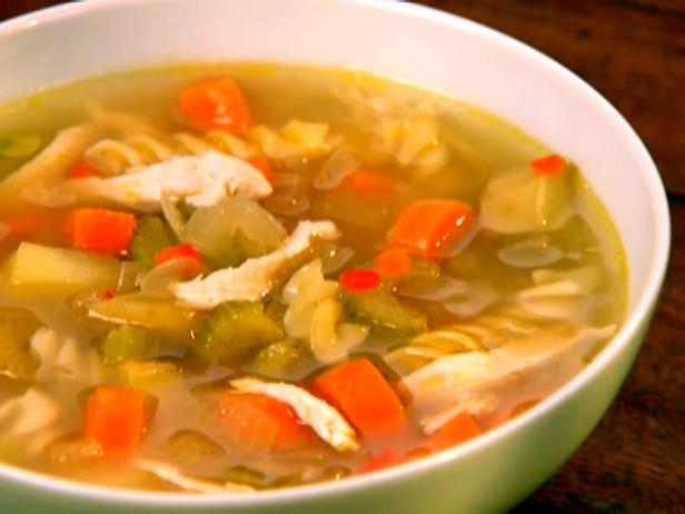 Spiced Chicken Soup