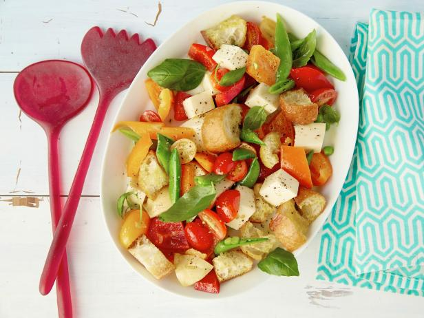 Smoky Panzanella with Market Vegetables