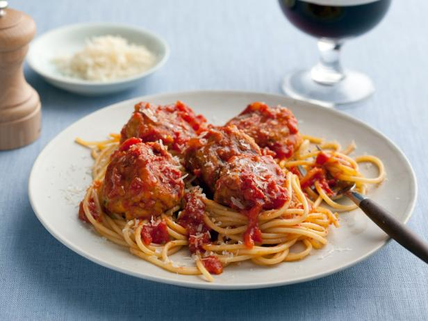 Spaghetti and No-Meat Balls