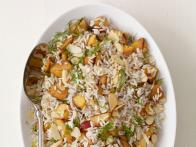 Spiced Rice With Nectarines