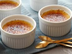 Make Alton Brown's foolproof Creme Brulee recipe, a French classic with vanilla bean and caramelized sugar, from Good Eats on Food Network.