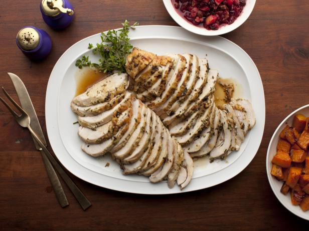 Herb roasted turkey breast recipe food network recipe ina herb roasted turkey breast recipe food network recipe ina garten food network forumfinder Choice Image