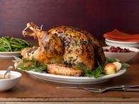 Brined Herb-Crusted Turkey with Apple Cider Gravy
