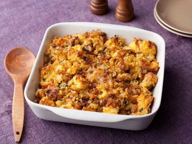 Caramelized Onion and Cornbread Stuffing