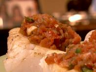 Cod with Roasted Tomato Salsa