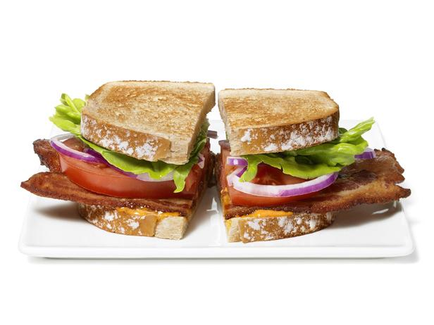 BLTs With Blue Cheese-Buffalo Aioli